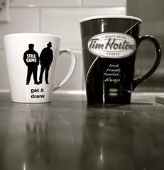 2014_365 (Chilanga Cement) Tags: reflection kitchen coffee mugs tea drink fresh drinks timhortons timmies stillgame getitdrank