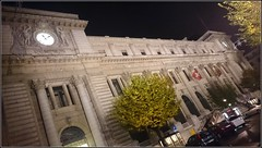 Hotel des Postes, Geneva, Switzerland (Wagsy Wheeler) Tags: building night hotel switzerland suisse geneva geneve nighttime suiss hôteldespostes hoteldesposts