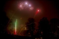 Fireworks in Bielefeld, Germany (Sö. La. Li.) Tags: photography nikon fotografie firework lars newyearseve silvester feuerwerk 2015 sönke linnemann d5100 nikond5100 sönkelarslinnemann