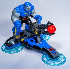 Lego 76028 - DC Comics Super Heroes - Darkseid Invason (gnaat_lego) Tags: lego superman dccomics superheroes cyborg greenarrow darkseid hawkman 76028 darseidinvasion