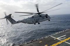 150104-N-QM905-040 (CNE CNA C6F) Tags: europe navy naval forces mediterraneansea lpd7 superstallion ussiwojima ch53e c6f navalforcesafrica marinemediumtiltrotorsquadron365reinforced usnavyeurope usnavyafrica