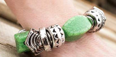 Glimpse of Malibu Green Bracelet K1 P9430-5