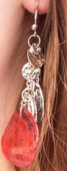 Sunset Sightings Red Earrings K1 P5920A-5