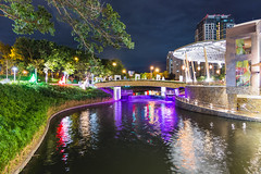 River Park (bryanshoots) Tags: park festival night mall river lumix philippines panasonic muntinlupa alabang lx7