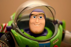 To Infinity And Beyond - #FlickrFriday No.99 (Derek Hall) Tags: cinema blur smile movie toys nikon ranger toystory buzzlightyear infinity space competition special explore pixar theme lightroom flickrfriday toinfinityandbeyond d5300 andystoy