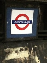Leicester Square (Deydodoe) Tags: london station sign underground transport tube leicestersquare londonunderground masstransit publictransport westend thetube