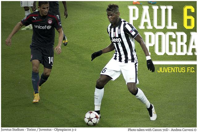 Paul Pogba | Juventus - Olympiacos