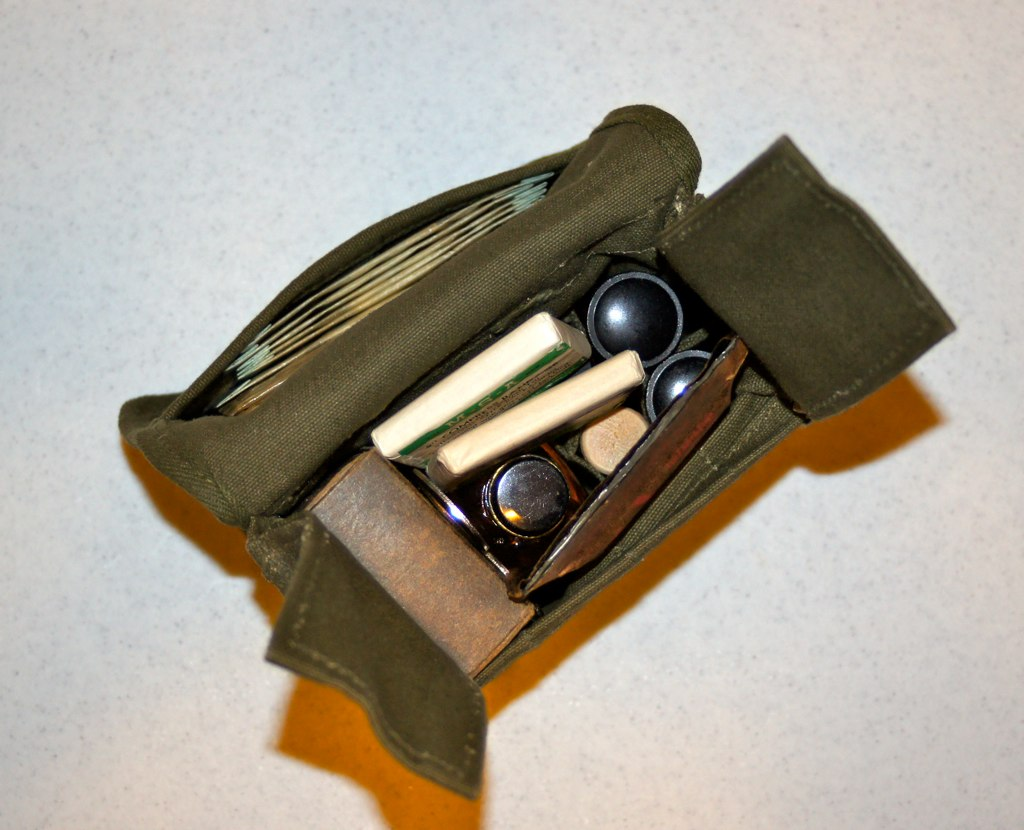 WW-2 US Jungle First Aid Kit (Pacific Kilroy) Tags: army us wwii ...