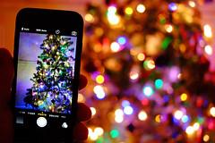 Christmas - Navidad - EXPLORED! Thank You :-) (Fotomondeo) Tags: christmas wales lights navidad luces bokeh cardiff christmastree gales nadal arboldenavidad pontprennau iphone6 fujifilmxm1