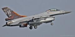 664 - RNoAF - F-16 'Fighting Falcon' (rudyvandeleemput) Tags: de photography air royal rudy norwegian f16 falcon van fighting defense luchtmacht 664 forche leemput defensie rnoaf ruudster rudigiart