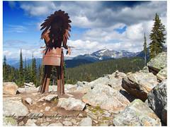 IMG_1063 Indian with a view (mikemcfallphotography) Tags: rockies bc britishcolumbia columbia mount british cana revelstoke michaelmcfall mikemcfall