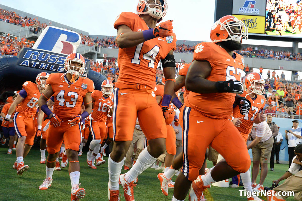 Clemson Photos: Korie  Rogers, 2014, Football, Russell  Athletic  Bowl