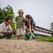 Photographie par Ken Sarawut, jeune thaï bénévole à Maejo Baandin