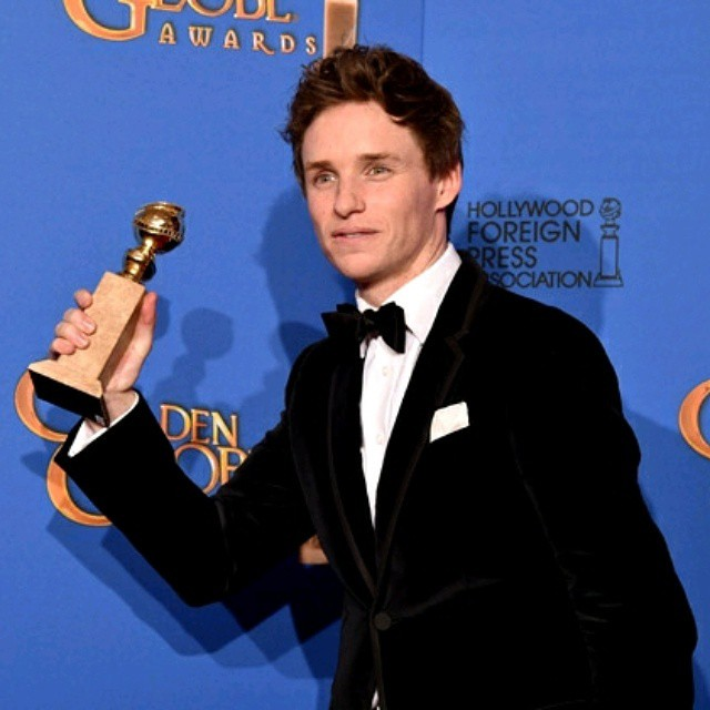 72ND GOLDEN GLOBES AWARD  2015 AT A GLANCE :   EDDIE REDMAYNE WINS BEST ACTOR AWARD FOR COMEDY, DRAMA #THEORY #OF #EVERYTHING