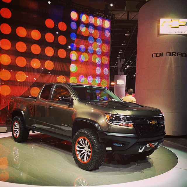 chevrolet colorado trucks naias pickups naias2015