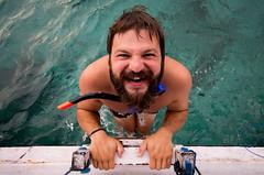 snorkeling Chris