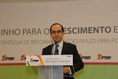 Sessão de Abertura das V Jornadas Consolidação, Crescimento e Coesão