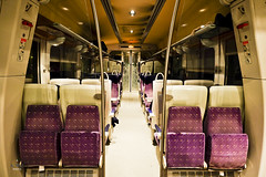 Carriage of the French Railway (A. Wee) Tags: france train cabin carriage interior sncf