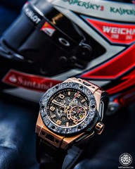 Do you have your parachutes ready? As we are going to fly with incredible @hublot Big Bang Ferrari King Gold  Shot for @bhindijewelers with @watchanish (Onysko Photography) Tags: nyc cup square photography photo oracle flickr photographer watches watch squareformat wrist product americas photograpy bremond iphoneography instagramapp uploaded:by=instagram