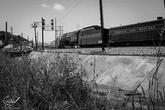 N&W J 611 Roanoke, Va (gdalton91) Tags: railroad train photography j spring nw norfolk trains steam roanoke va western excursion 611