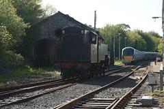 DSC07225 (Alexander Morley) Tags: ireland no 4 patrick railway class number railtour westport ncc society derby preservation wt lms croagh rpsi 264t