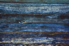 Monday blues (petrapetruta) Tags: blue lines paint aged scratch