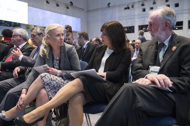 Anna Johansson, Yuriria Mascott Pérez and Jack Short