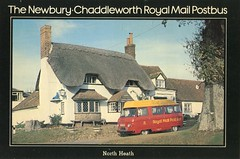 The Newbury to Chaddleworth Postbus . (AndrewHA's) Tags: bus post mail royal pb newbury maidstone minibus commer rootes chaddleworth northheath