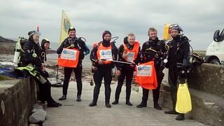 Clean up Dive Wild Atlantic Way Clean Coasts