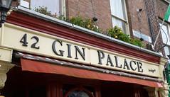 Gin Palace, Dublin 1. (piktaker) Tags: ireland dublin bar pub inn eire tavern pubsign roi ginpalace innsign publichouse republicofireland