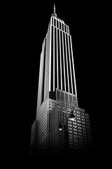 Empire State (TonyReddington) Tags: nyc bw newyork 34thstreet empirestate
