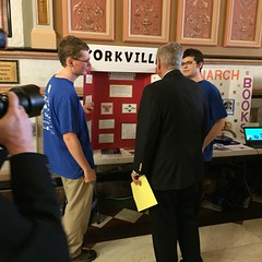"AJ and Chase Talk with Senator Oberweis • <a style=""font-size:0.8em;"" href=""http://www.flickr.com/photos/109120354@N07/27024142072/"" target=""_blank"">View on Flickr</a>"