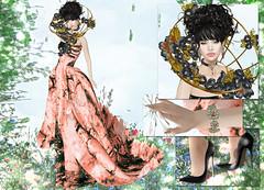 JUMO - Alberta Gown HOPE (Rehana MiSS SLVietnam, Face of CHOP ZUEY 2015) Tags: fashion secondlife laboheme boon rehana jumo slink posesion hucci chopzuey rehanaseljan thecourageevent