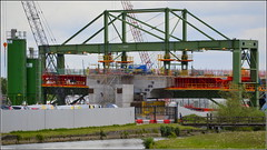 Mersey Gateway Project (Wing Traveller) at N1 Northern approach 19th May 2016 (Cassini2008) Tags: construction widnes merseylink merseygatewayproject wingtraveller rubricabridges rubricaengineering