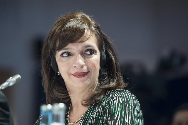 Yuriria Mascott Pérez at Closed Ministerial Session