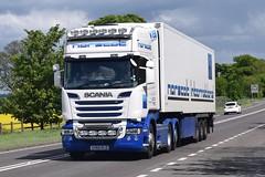 SV65KLD  Norscot International, Kinlochbervie (highlandreiver) Tags: truck scotland transport scottish international lorry scania kld haulage a66 norscot sv65 sv65kld