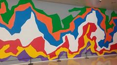 Caixa Forum (javitm99) Tags: barcelona espaa color colour colors wall arcoiris architecture pared rainbow spain arquitectura mural colours spectrum forum bcn colores caixa espectro caixaforum