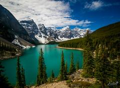 Lady Moraine (Ar'alani) Tags: travel lake canada landscape scenic roadtrip adventure banff canadianrockies lakemoraine