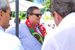 Portugal X Hungria na Sede Nacional do PSD
