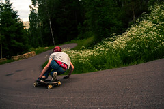 luf (Gustav Norrhll) Tags: life light sunset night speed photoshop fire skateboarding outdoor low style downhill bonfire jungle hdr campsite