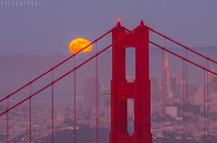 Moon rise...over the North tower of Golden Gate Bridge.. (SuchismitaSen) Tags: sanfrancisco california light sunset sea sky cloud color nature water colors fog clouds landscape nikon colorful sfo sigma goldengatebridge moonrise goldengate etsy 1020mm lunar sapphire landcsape strawberrymoon finegold sigma1020 hawkhills flickrhearts flickraward flickrbronzeaward exemplaryphotos internationalgeographic landscapesdreams spiritofphotography d7000 nikonflickraward wideanglelandscape addictedtonature nikond7000 naturesprime bestshotawards landscapelovers sigma1020world amazinggoldengate amazinggoldengatebridge