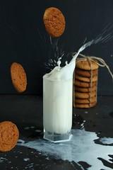 Milk #2 (I_Nneska) Tags: milk cookie
