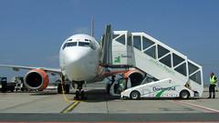 G-EZKE 737-700 after flight from BCN (since 2014 EastarJet HL8022) (surspotter) Tags: gezke easyjet dtm edlw b737700 b737 bcn