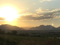 Rocky Mountain high (sharonhorning) Tags: sunset sky sun mountains clouds colorado goldenhour