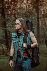 IMG_5112 (rodinaat) Tags: longhair longhairman longhairedman longhaired beard bearded metal metalhead powermetal trashmetal guitar musican guitarplayer brutal forest summer sun