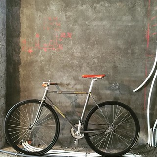NAGASAWA  #bike #bikeporn #bicycle #velo #cycle #cycling #fixie #fixed #fixedgear #pista #pursuitbike #track #trackbike #lopro #funnybike #keirin #singlespeed #競輪 #固定ギア #velodrome #vscocam #vsco #taipei #taiwan #nagasawa
