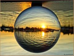 im Senftenberger Stadthafen (der bischheimer) Tags: ball crystal rund kugel lausitz senftenberg derbischheimer