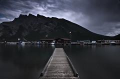 Lake Minnewanka (larz_73) Tags: longexposure canada nikon le alberta nd lakeminnewanka nd110 d7000