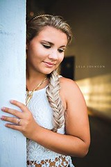 (Lela Johnson) Tags: sevenhillsfarm trentonfl girl model beautiful headband lace fishtail braid