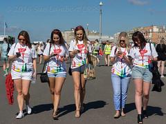 Virgins Touching Base (Nanooki ) Tags: virginholidays ladies brighton brightonpride pride gaypride carnival parade sussex virgins girls